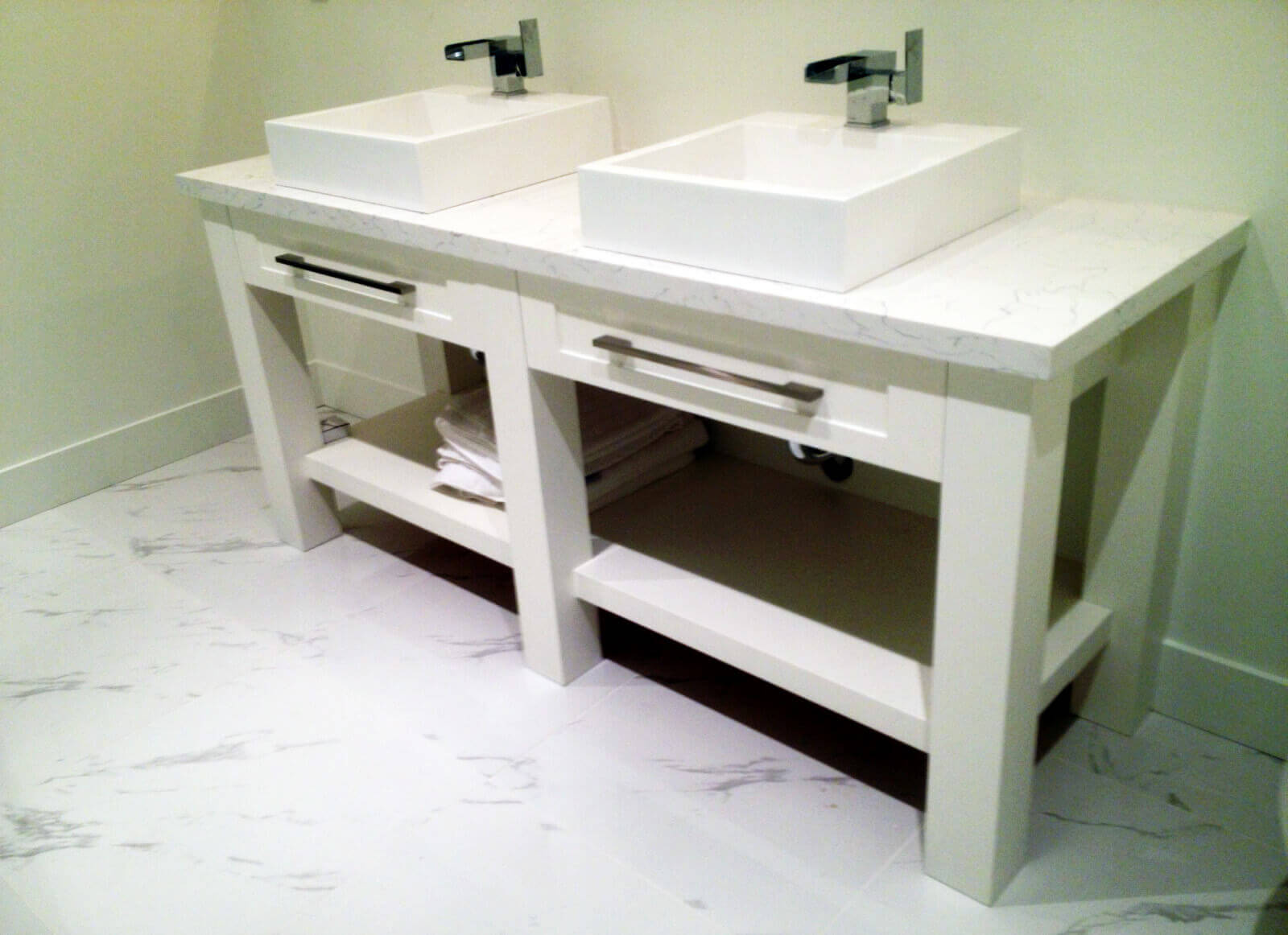 Bathroom Cabinets - Silver Touch Cabinets